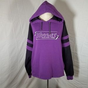 Vintage Hoosier Racing Tire Hoodie Ladies Small